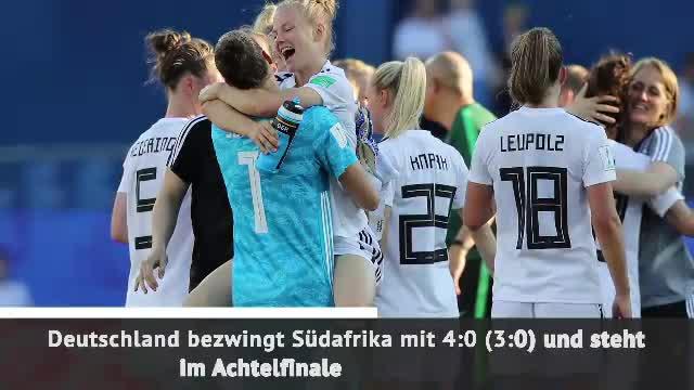 Fast Match Report: DFB-Frauen im Achtelfinale