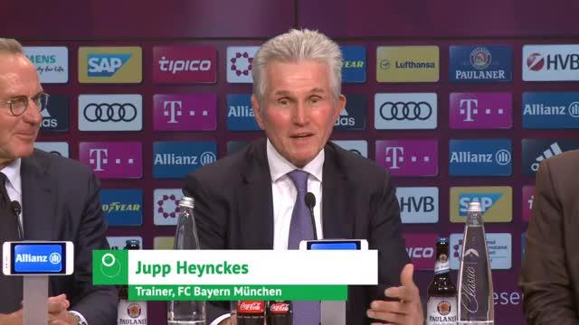 Pizarro-SMS begeistert Jupp Heynckes