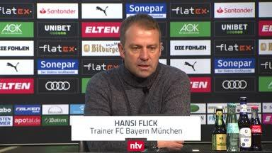 """Flick klagt: """"Durch drei Ballverluste bestraft worden"""""""
