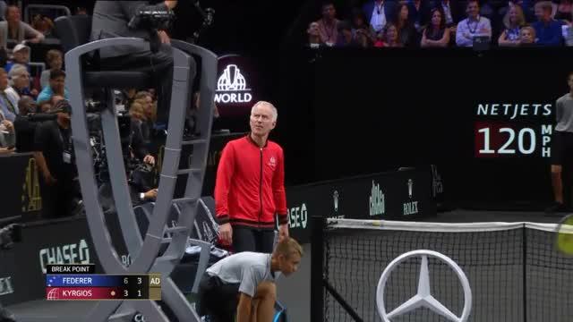 Laver Cup: McEnroe und Kyrgios legen sich mit dem Schiri an