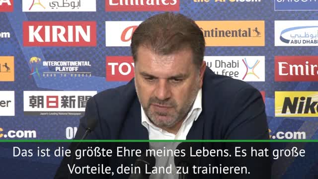 "WM-Quali: Postecoglou stolz: ""Größte Ehre"""