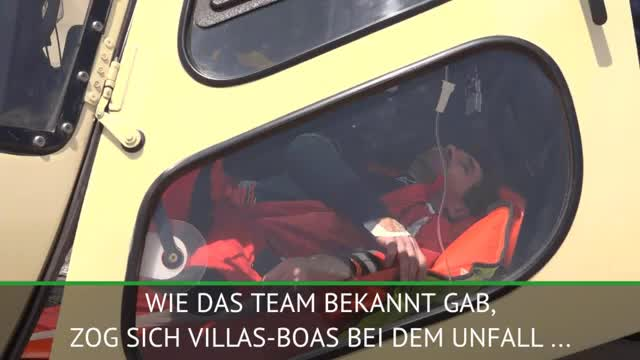Villas-Boas muss nach Crash ins Krankenhaus