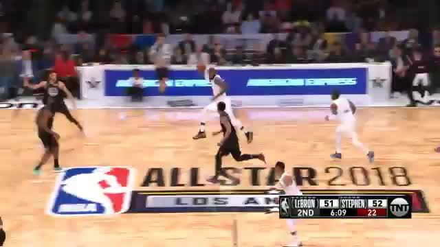 All-Star Game: MVP LeBron setzt das Highlight