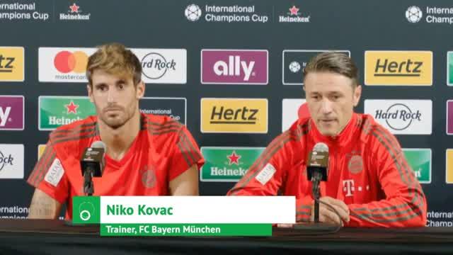 """Davies zum FCB! Kovac: """"Große Zukunft"""""""