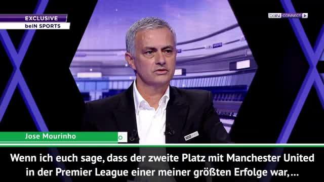 José Mourinho stolz auf Vizemeisterschaft mit United