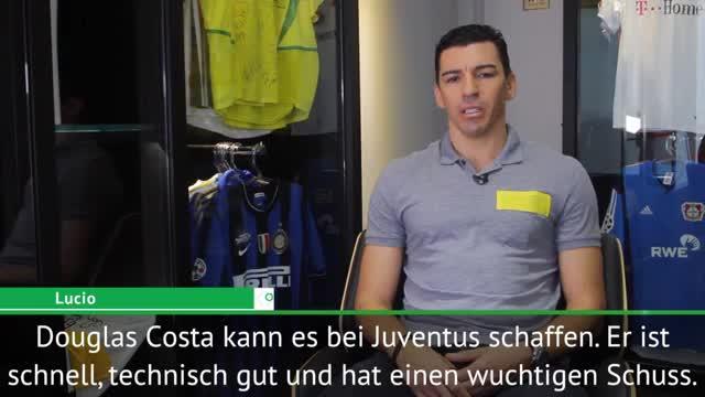 Lucio sieht Douglas Costas Wechsel positiv