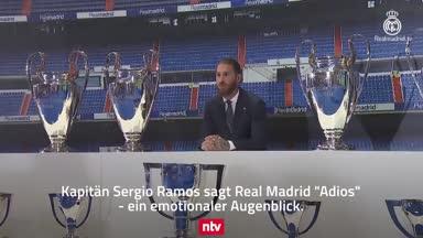 Sergio Ramos: So lief der Tränen-Abschied