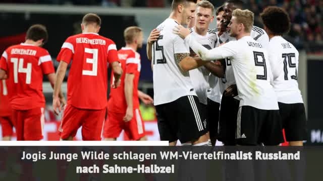 Fast Match Report: Deutschland - Russland