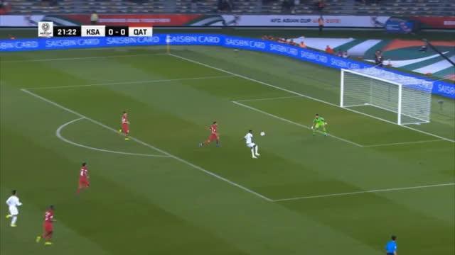 Asien-Cup: Katar putzt Saudi-Arabien weg