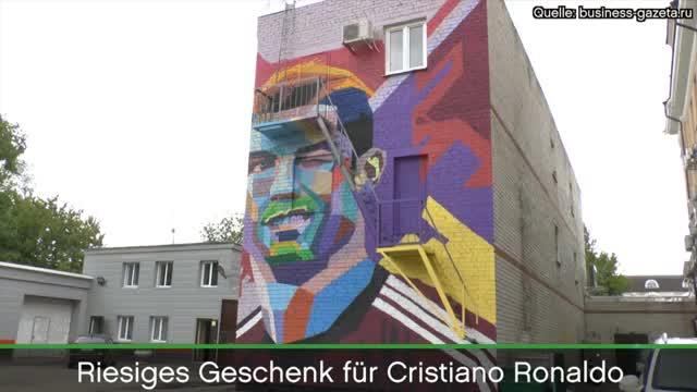 Confed Cup: Riesiges Geschenk für Ronaldo
