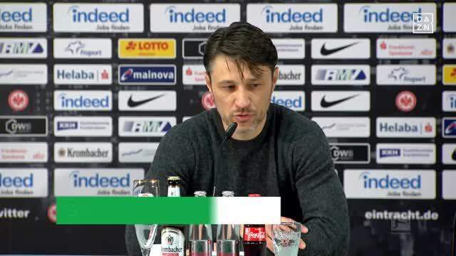 """Kovac zufrieden: """"Das ist ein großer Sieg"""""""