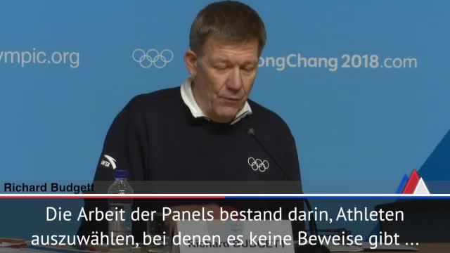 "Olympia: Budgett: ""Russische Athleten sauber"""