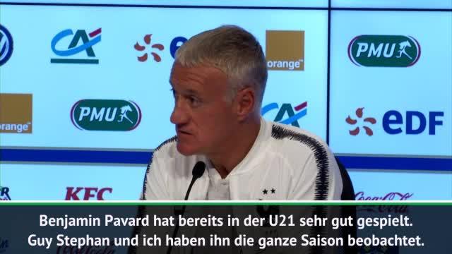Deschamps-Loblied auf 'WM-Entdeckung' Pavard