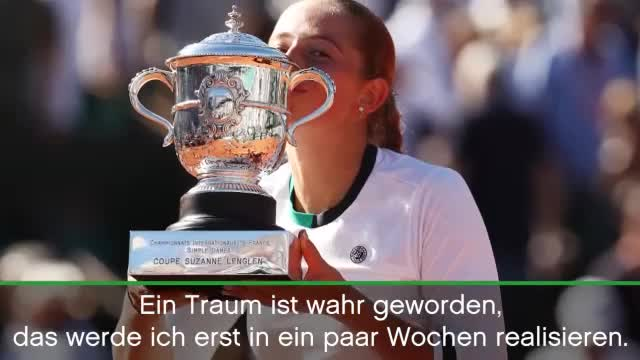 "French Open: Ostapenko: ""Traum wahr geworden"""