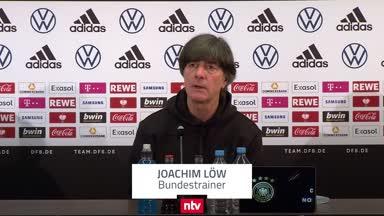 Bundestrainer Löw warnt vor Nordmazedonien
