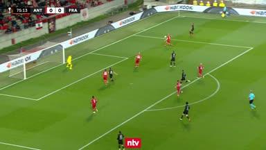 Gute Chance für Eintracht Frankfurt