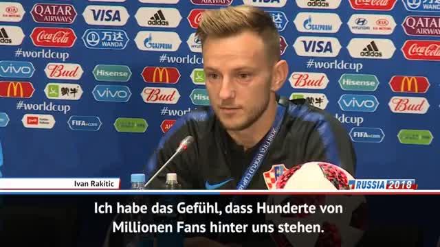 Rakitic: Die Fußball-Welt steht hinter uns