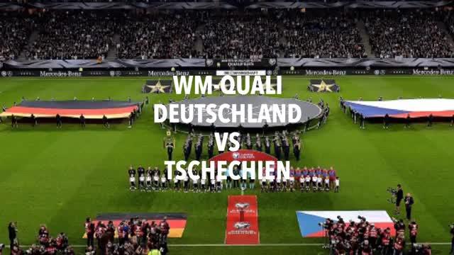Deutschland vs Tschechien in Bildern