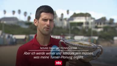 Melbourne-Champ Djokovic erwägt kleineres Turnierprogramm