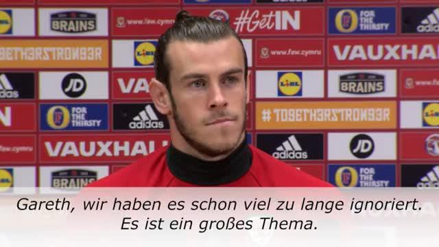 Wales: Bale und das Mysterium des Teamfotos
