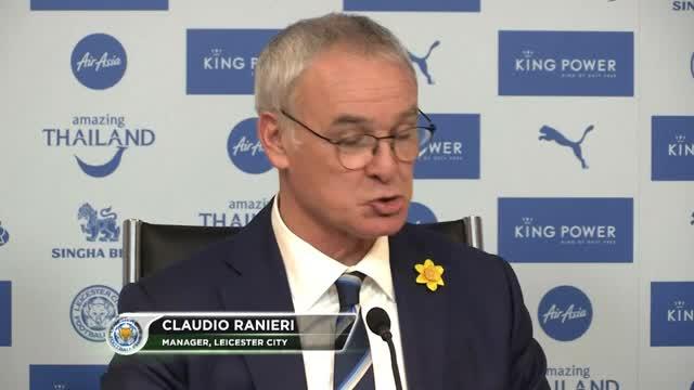 """Ranieri: """"Die Welt spricht über uns, aber..."""""""