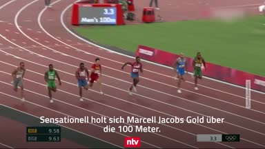100-m-Sensation und Wellbrock-Bronze: Highlights von Tag 10