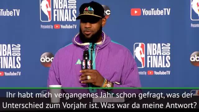 LeBron nach Niederlage mit Mega-Lob für Durant