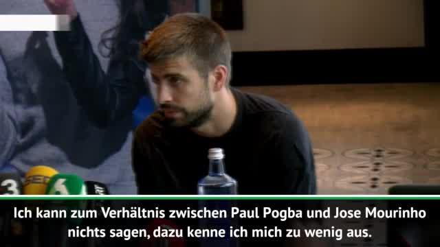 """Pique: """"Wäre schön, Pogba im Team zu haben"""""""