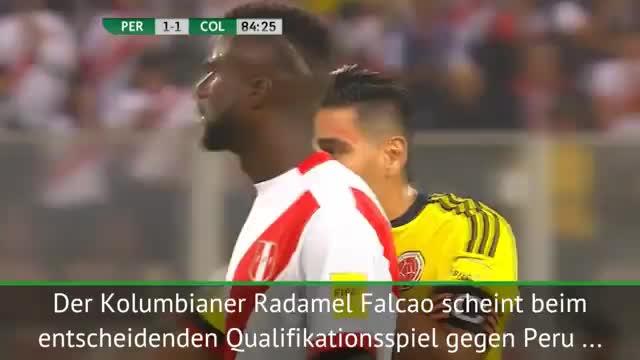 Drängte Falcao Peru zum Remis?