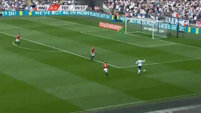 United dreht die Partie und zieht ins Pokalfinale ein