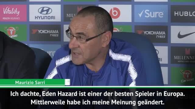 """Sarri: """"Vielleicht ist Hazard der Beste"""""""