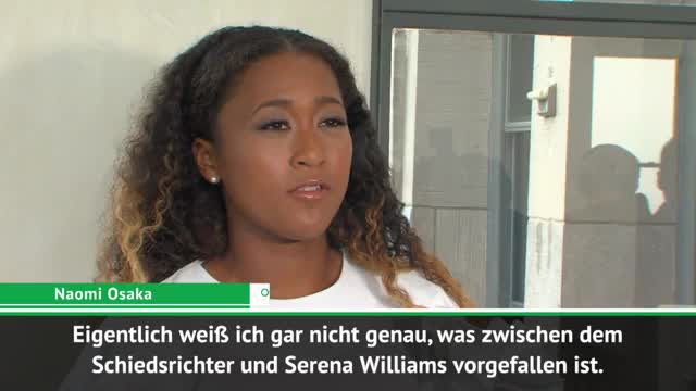 US Open: Osaka äußert sich zu Williams-Ausraster