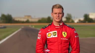 Mick Schumacher testet vor Formel-1-Debüt auf dem Nurburgring