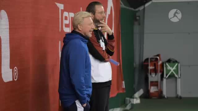 DTB: Boris Becker als Talentscout gefragt