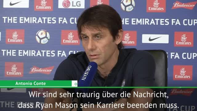 Nach Karriere-Ende: Conte wendet sich an Mason