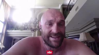 Kampfansage von Tyson Fury
