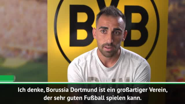 """Alcacer über den BVB: """"Ein großartiger Klub"""""""