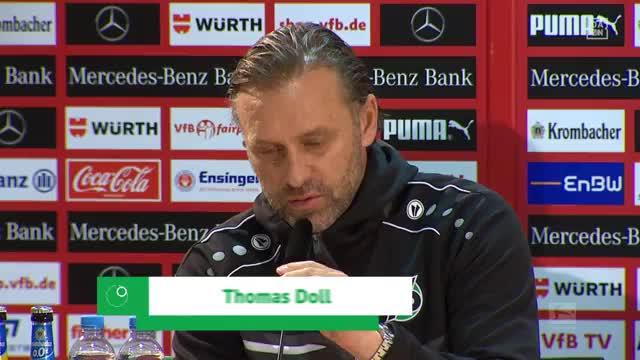"""Doll sauer: """"Hatte mit Bundesliga nichts zu tun"""""""
