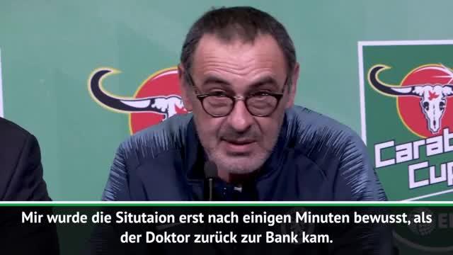 """Sarri zu Kepa-Eklat: """"Großes Missverständnis"""""""