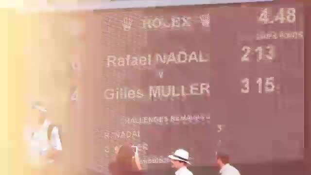 Wimbledon: Nadal scheitert an Marathon-Muller