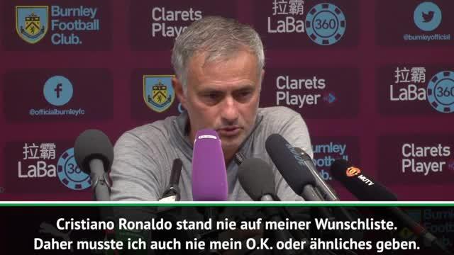 Mourinho mit Kampfansage an Ronaldo und Juve