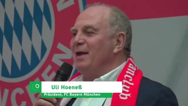 "Hoeneß kündigt ""sehr, sehr, sehr offensive Transferpolitik"" an"