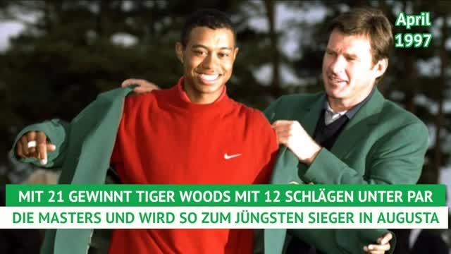 Tiger Woods: Karriereverlauf einer Legende