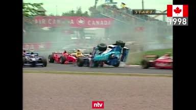 F1 Unvergesslich: Das Schrott-Spektakel von Montreal