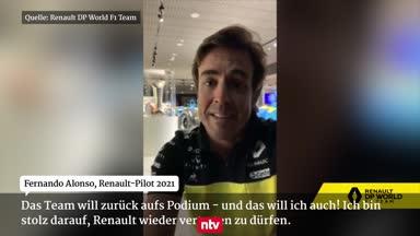 Hier verkündet Renault Alonsos F1-Comeback