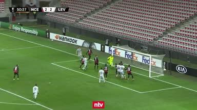 Leverkusens Fünf-Tore-Spektakel im Video