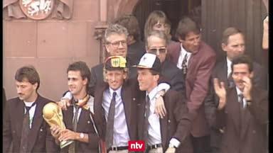 Vor 30 Jahren! Rückblick auf den WM-Titel von 1990