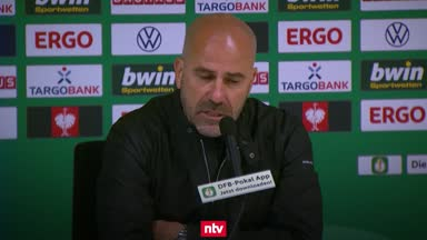 Bosz trotz Final-Einzug nicht ganz zufrieden