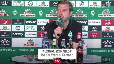 """Kohfeldt vor dem """"Endspiel"""" gegen Mainz"""