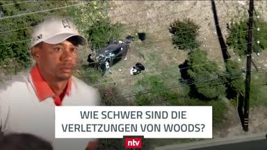 Unfall von Woods: Arzt gibt Einschätzung zu Verletzungen